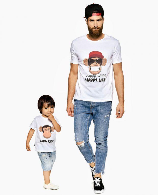 Kids T-shirt HAPPY LIFE