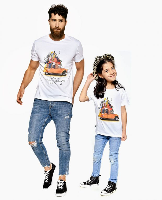 Kids T-shirt MOMENTS