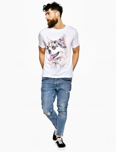 Men's Printed T-Shirt HUSKY