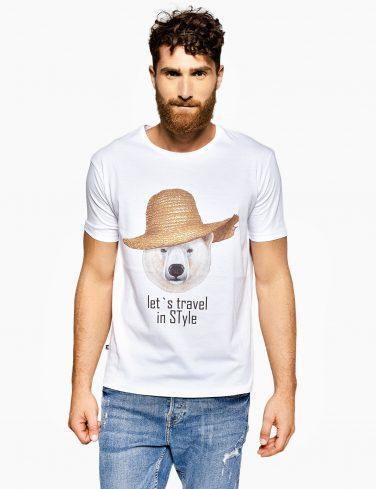 Men's Crew Neck T-Shirt TRAVEL