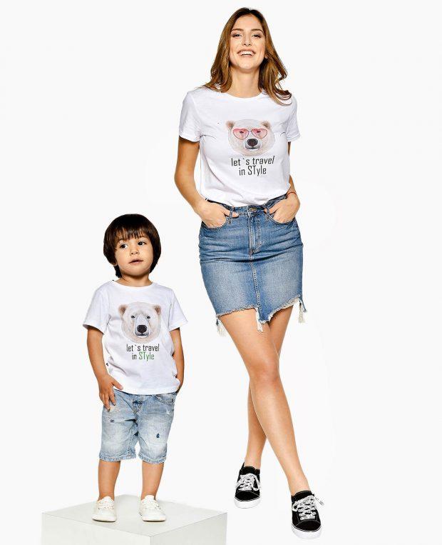 Women's Crew Neck T-Shirt TRAVEL