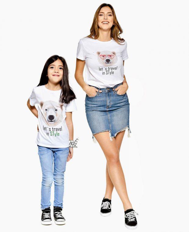 Kids Crew Neck T-Shirt TRAVEL