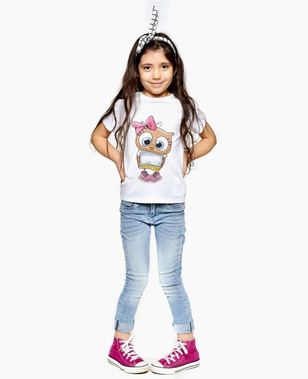 Girls Printed Tee CHICK