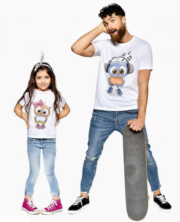 Men's Printed T-Shirt CHUCK