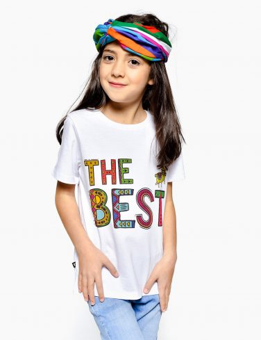 Kids Crew Neck T-Shirt THE BEST