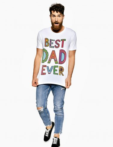 Men's Crew Neck T-Shirt BEST DAD