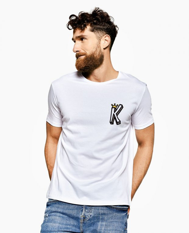 Men's Crew Neck T-Shirt KING CROWN