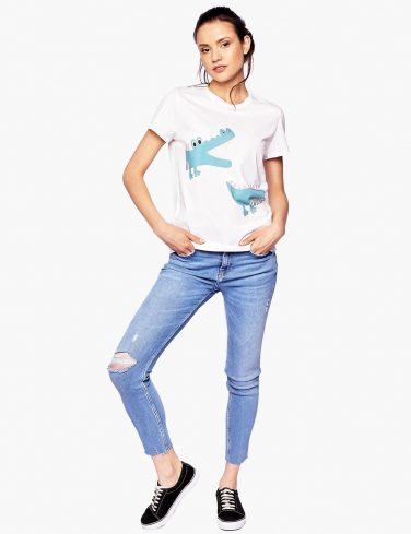 Women's T-Shirt CROCO LOCO