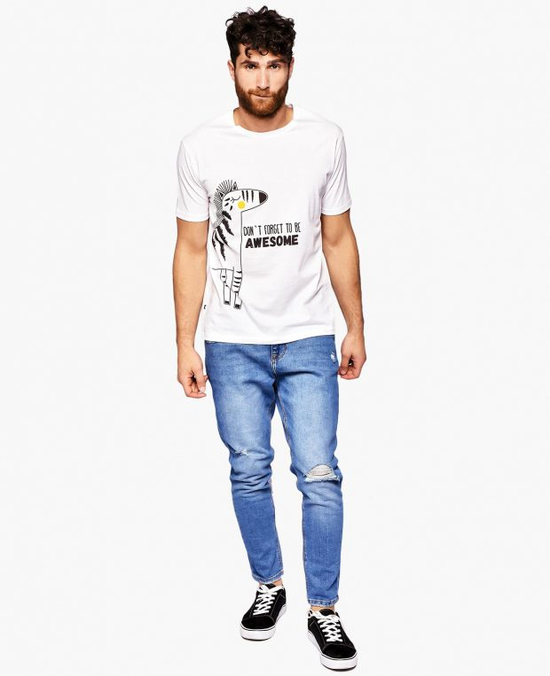 Men's T-Shirt ZEBRA