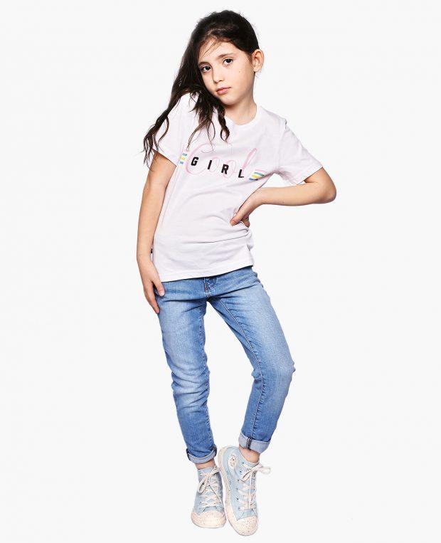 Kids Slogan T-Shirt COOL GIRL