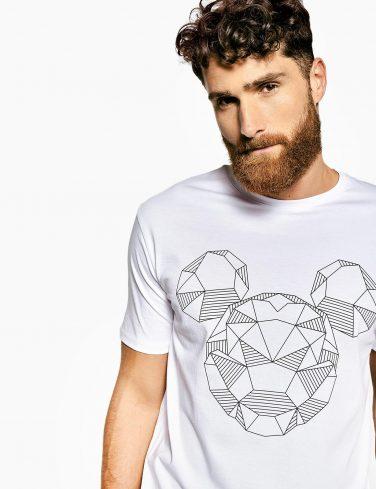 Men's Printed T-Shirt SHINE BRIGHT