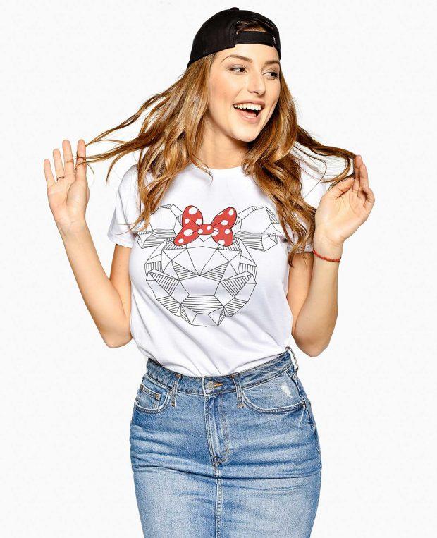 Women's Printed T-Shirt SHINE BRIGHT