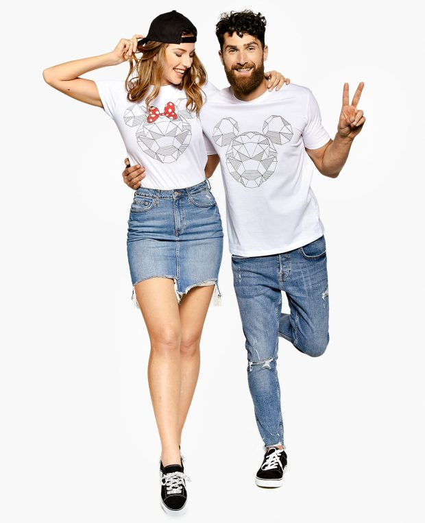 Men's Printed T-Shirt SHINE BRIGHT