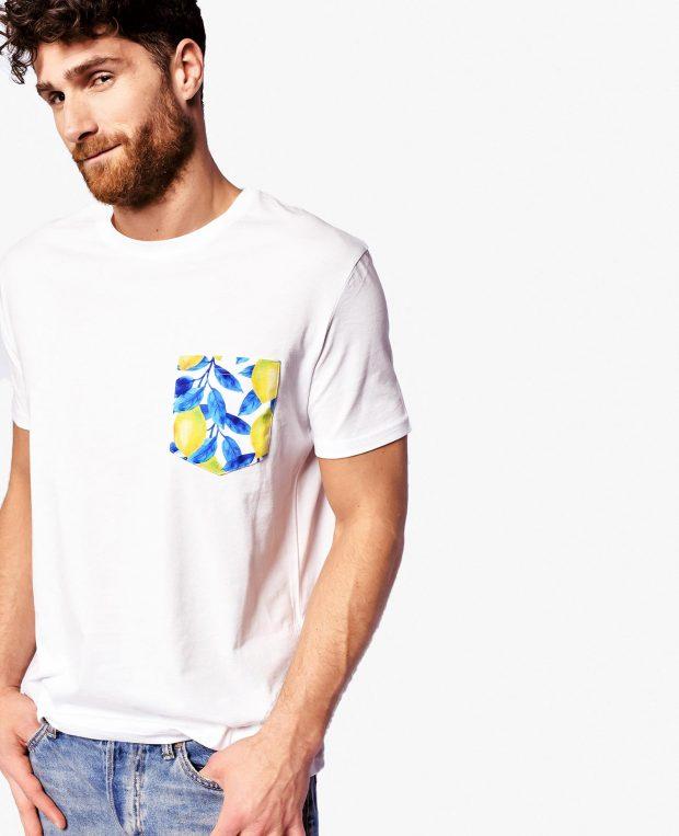 Men's Pocket T-Shirt LEMONS