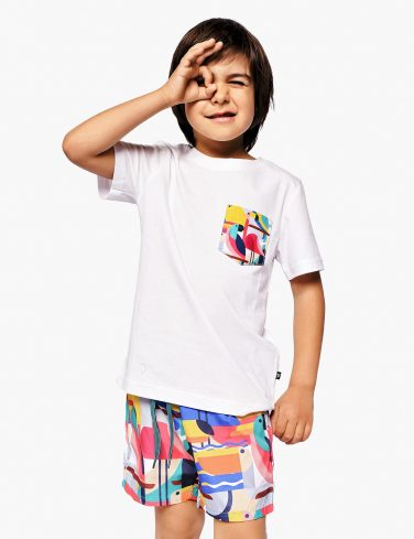 Kids Pocket T-Shirt BAHAMAS