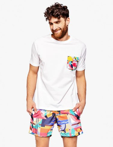 Men's Pocket T-Shirt BAHAMAS