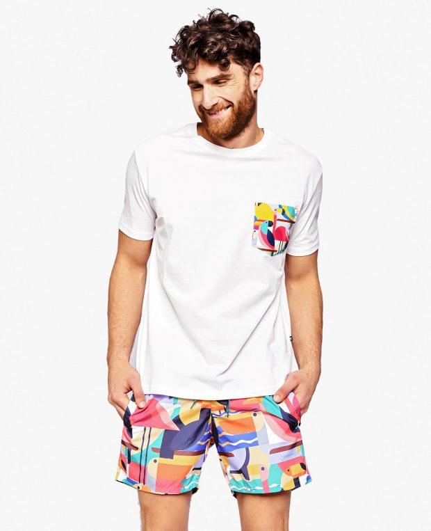 Men's Pocket T-Shirt BAHAMAS