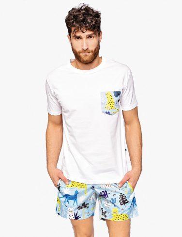 Men's Pocket T-shirt HAKUNA MATATA