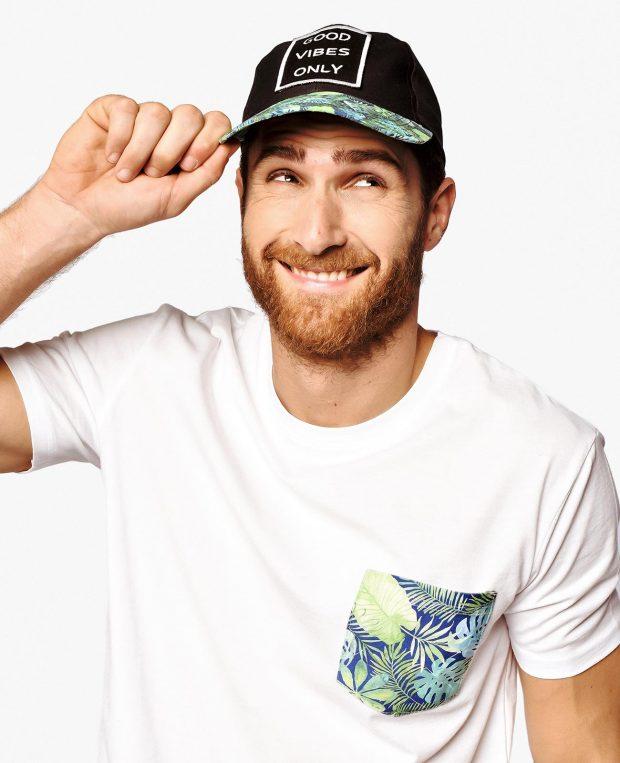 Men's Pocket T-Shirt TROPICANA