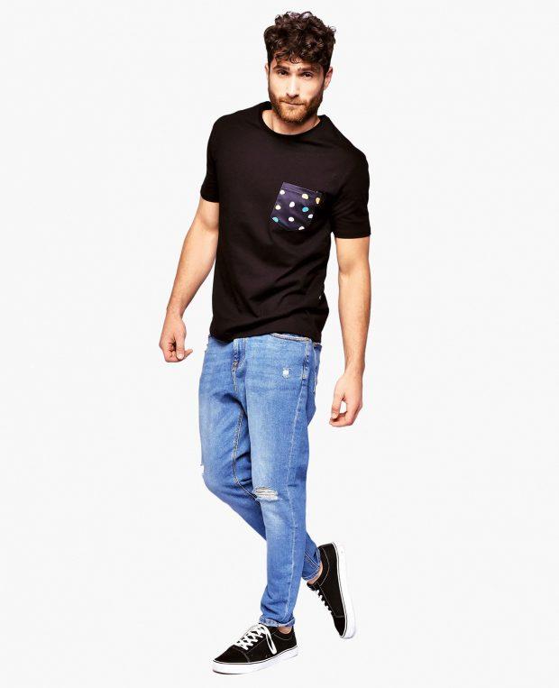 Men's Pocket T-Shirt BAM BAM