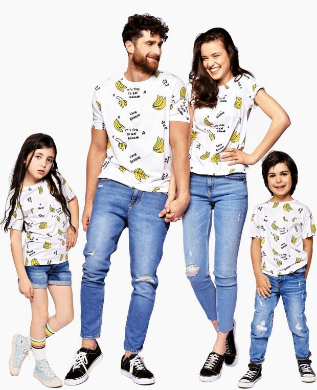 Women's Printed T-Shirt BANANAS