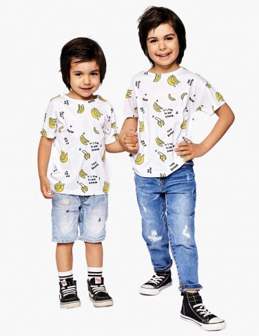 Kids Printed T-Shirt BANANAS