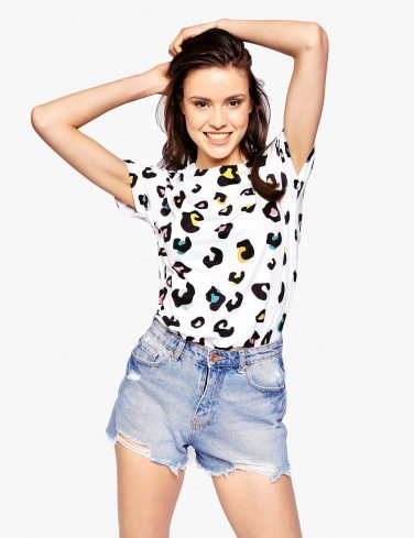 Women's Printed T-Shirt LEOPARD