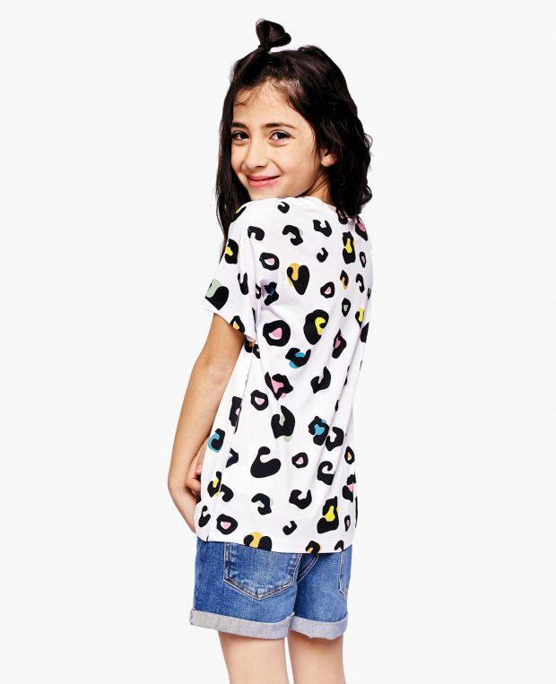 Kid Printed T-Shirt LEOPARD