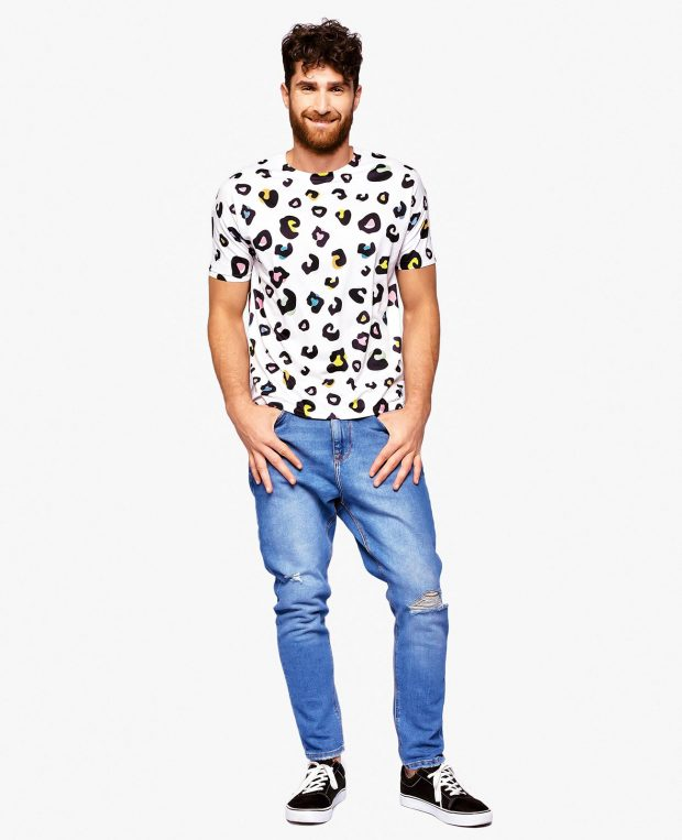 Men's Printed T-Shirt LEOPARD