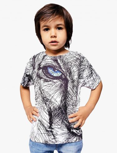 Kid Printed T-Shirt SKETCHY LION