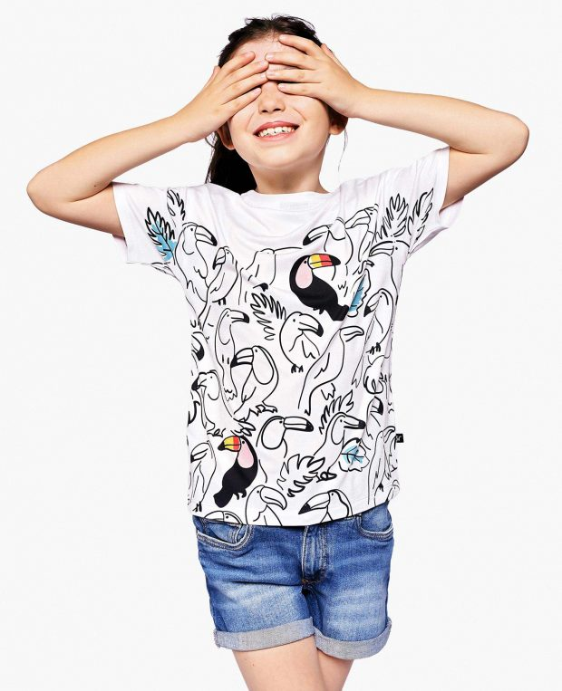 Kids Printed T-Shirt TUCAN