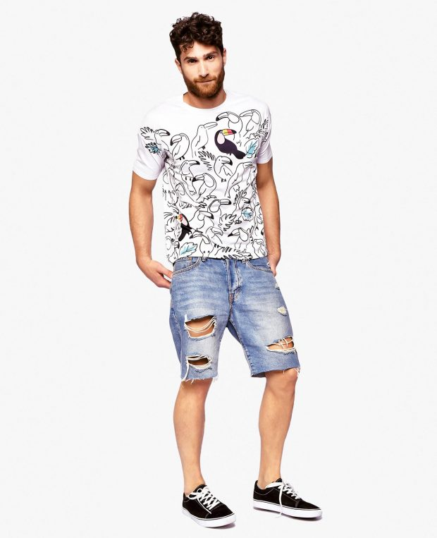 Men's Printed T-Shirt TUCAN