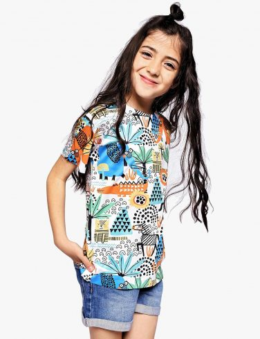 Kids Printed T-Shirt AFRICA