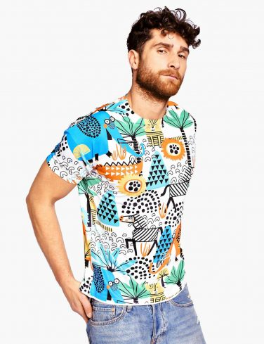 Men's Printed T-Shirt AFRICA