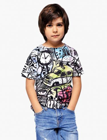 Kids Printed Tee CITY COMICS