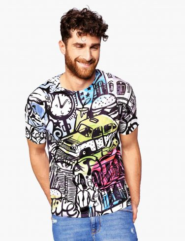 Men's Printed Tee CITY COMICS