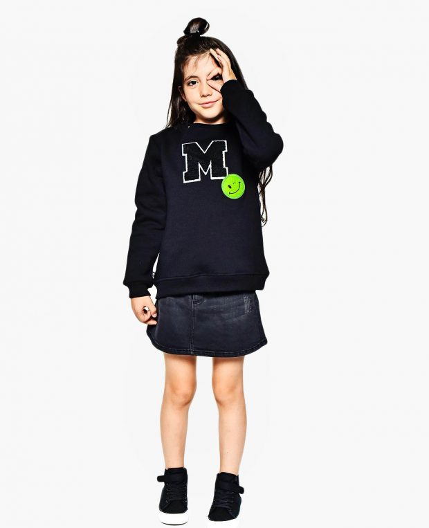 Kids M Patch Blouse
