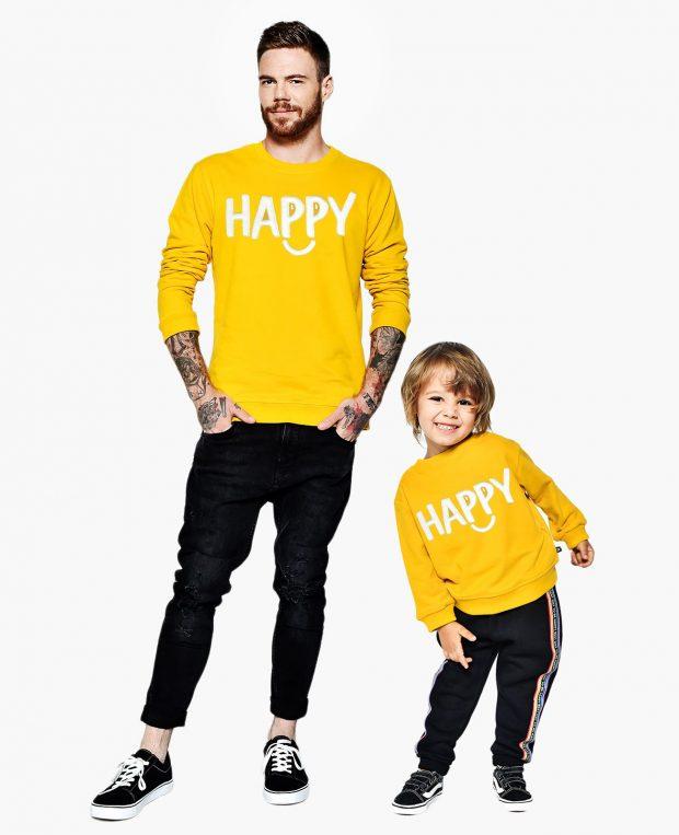 Men's Sweatshirt HAPPY