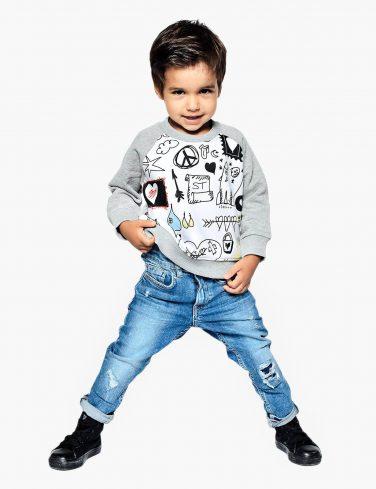 Kids Sweatshirt DOODLE