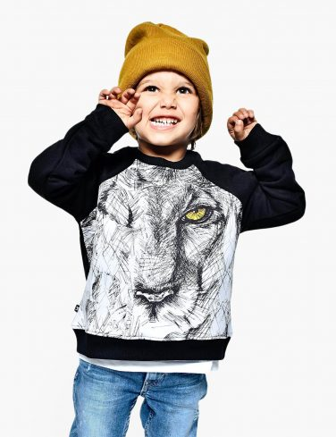 Kids Sweatshirt SKETCHY LION
