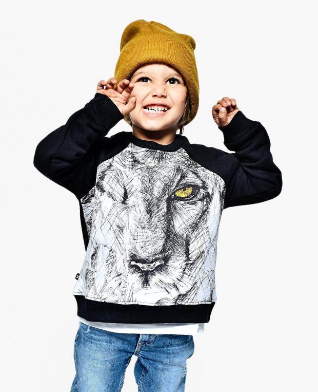 Kids Sweatshirt SKETCHY LION