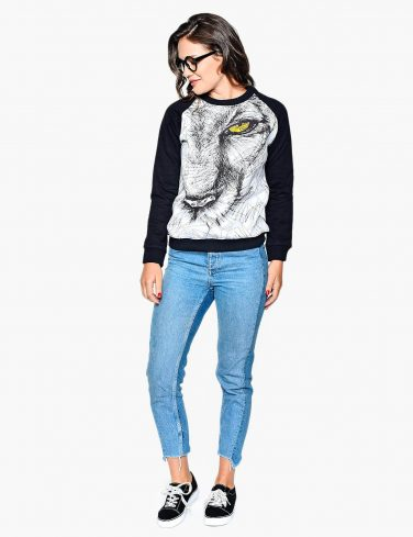 Women's Sweatshirt SKETCHY LION