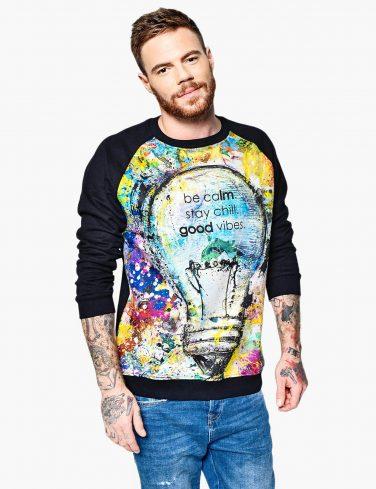 Men's Sweatshirt GOOD VIBES