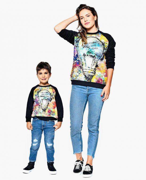 Kids Sweatshirt GOOD VIBES