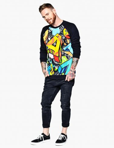 Men's Sweatshirt ABC