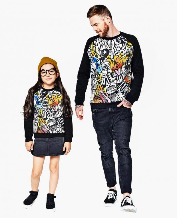 Kids Sweatshirt MUSIC ART