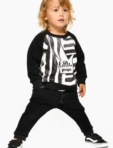 Kid Sweatshirt STRIPE PRINCE