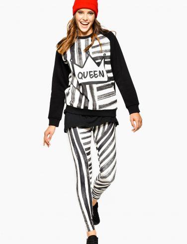Women's Sweatshirt STRIPE QUEEN