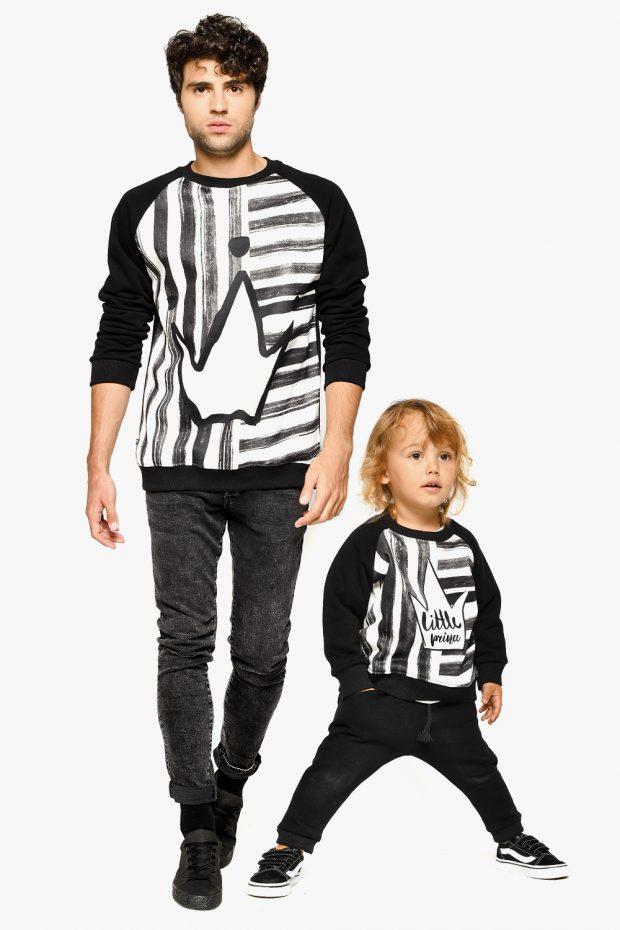 Men's Sweatshirt STRIPE KING