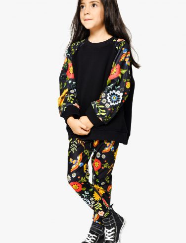 Kids Sweatshirt FLOWER POWER